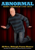 Abnormal - Mark Lundholm - Recovery Comedy - Front DVD Cover - RecoveryBookstore.com