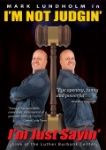 I'm Not Judgin' - Mark Lundholm - Recovery Comedy - Front DVD Cover - RecoveryBookstore.com