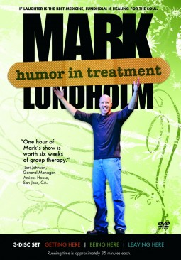 Humor In Treatment - Mark Lundholm - Front DVD Cover
