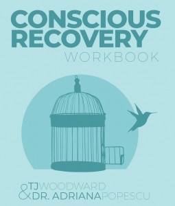 Conscious Recovery Workbook | TJ Woodward | Front Cover