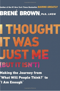 I Thought It Was Just Me... But it isn't - Book - Front Cover